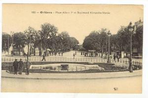 Orléans, France , 00-10s   Place Albert Ier et Boulevard Alexandre-Martin