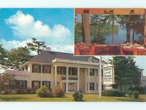 Unused Pre-1980 TOWNE LYNE HOUSE RESTAURANT Lynnfield Massachusetts MA v5986-17