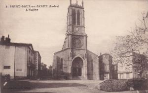 SAINT PAUL EN JAREZ, Loire, France, 1900-1910's; L'Eglise