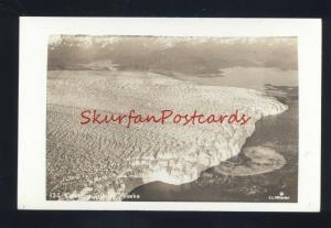 COLUMBIA GLACIER ALASKA VINTAGE C.C. WHEELER REAL PHOTO POSTCARD