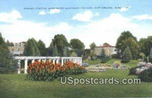Sunken Garden, Mississippi Southern College in Hattiesburg, Mississippi