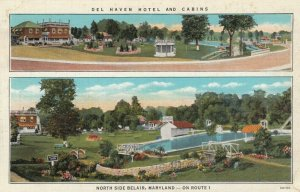 BELAIR , Maryland , 1930s ; Del Haven Motel