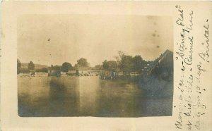 Salem Oregon Stinky Flat 1907 RPPC Photo Postcard 21-10418