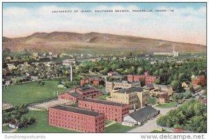 Aerial View University Of Idaho Southern Branch Pocatello Idaho