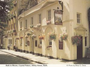 Eldridge Pope Crystal Palace Pub Bath Avon Postcard