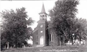 Wisconsin Benton Primitive Methodist Church Real Photo RPPC