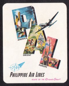 "Wheaties Philippine Air Lines sticker ""Route of the Orient Star"""