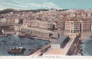 Algeria Alger Vue generale 1914
