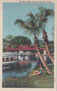 Florida Silver Springs The Boat Docks Curteich