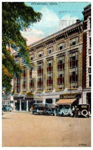 Connecticut Stamford , Hotel Davenport , West Park Place