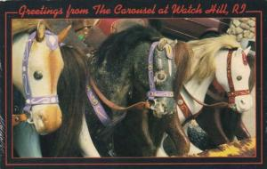 Rhode Island Watch Hill Greetings From The Carousel