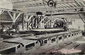 Northwestern Scene.  Inside a Saw Mill 1911 Divided Back PC