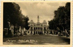 CPA AK INDOCHINA Saigon Hotel de Ville VIETNAM (956783)