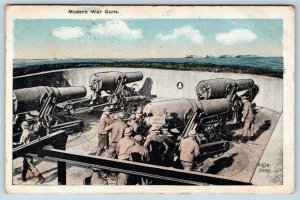 WW1 MODERN WAR GUNS*SHORE BATTERIES*COASTAL WEAPONS*AT SEA*SERIES 575 ARMY