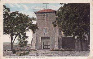 New Mexico Santa Fe Old San Miguel Mission 1922