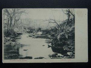 Scotland Isle of Arran IN GLEN CLOY Fairy Glen c1903 UB Postcard by Valentine
