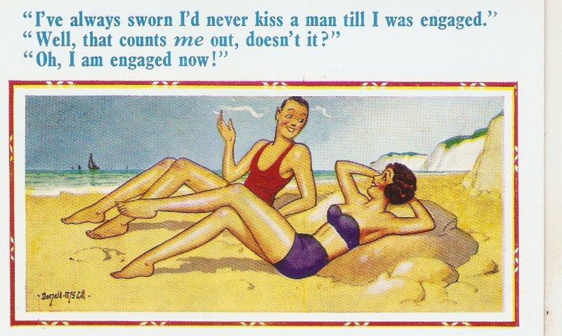 Donald McGill. I've always sworn I'd never... D.Constance Comics Ser PC # 2237