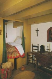 Museum Amsterlkring One Lieve Heer Op Solder Church Rare Chaplains Room Postcard