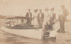RP:  CLARISSA , Minnesota , 1910 ; Viking Excursion Boat