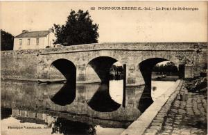 CPA  Nort-sur-Erdre (L.-Inf.) - Le Pont de St-Georges (588037)