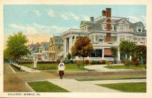 PA - Berwick. Hillcrest Neighborhood