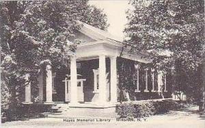 New York Millbrook Hayes Memorial Library Albertype
