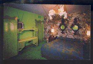 San Luis Obispo, California/CA Postcard, Madonna Inn, Chestnut Foal Room