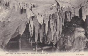 France Grottes de Betharram Decors de Stalactites
