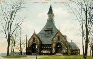 RI - West Londale. Christ Church