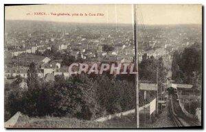 Old Postcard Nancy Vue Generale Taking the Cure of Air