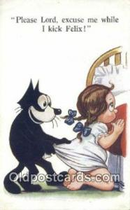 Series 451 Felix the Cat Postal used unknown