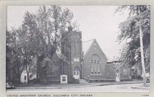 Indiana Columbia City United Brethren Church  Wayne Paper Box Co