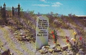 Arizona Tombstone Graves Of Dowd Samples Howard Delaney & Kelly Boothill ...