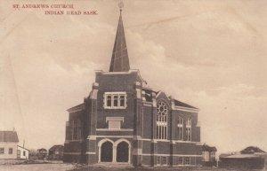 INDIAN HEAD, Saskachewan, Canada, 1900-10s; St. Andrews Church
