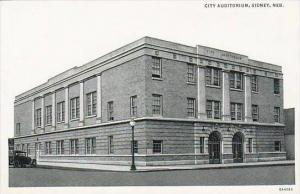 Nebraska Sidney City Auditorium