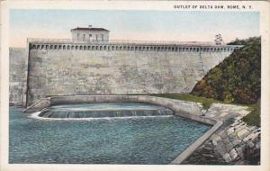 Outlet of Delta Dam, Rome, New York, 00-10's