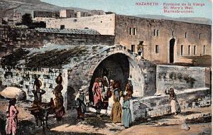 Nazareth Bethlehem Fountaine de la Vierge Nazareth Fountaine de la Vierge