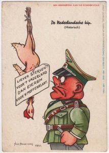 De Nederlandsche kip, by Nico Broekman 1941