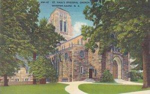 North Carolina Winston Salem Saint Pauls Episcopal Church Albertype