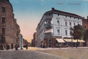 Tilsit Prussian Cigar Cigarette Shop Prussia Old Postcard