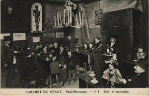 CPA PARIS (18e) CABARET DU NEANT No. 1. Salle d'Intoxication (561087)