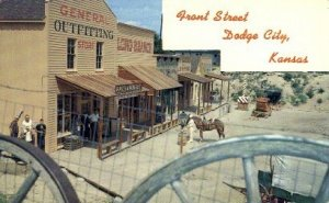 Front Street, Boot Hill - Dodge City, Kansas KS