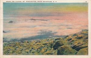 Above the Clouds over Mt Washington White Mountains New Hampshire - pm 1933 - WB