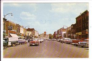 Kent Street, Lindsay, Ontario, 50's Cars