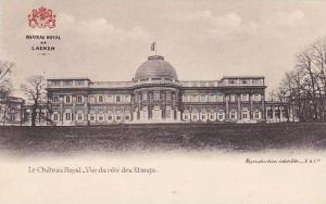 Belgium Brussels Chateau Royal de Laeken Vue du cote des Etangs