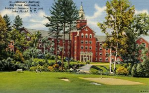 NY - Lake Placid, Saranac Lake. Raybrook Sanitorium Infirmary
