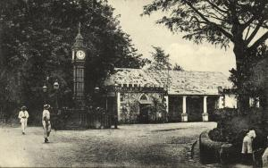 seychelles, VICTORIA, Post Office and Clock Tower (1910s)