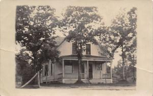 Minneapolis MN~Philip Johnson House & Porch~Went Hunting on MS River~1908 RPPC
