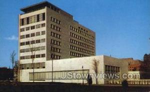 Veterans Memorial Bldg Detroit MI Unused