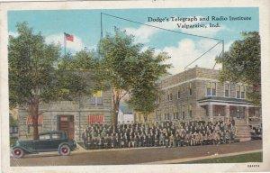 Indiana Valparaiso Dodge's Telegraph & Radio Institute sk3570